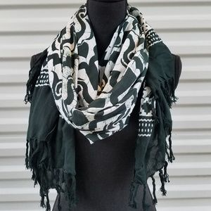 Large scarf shawl wrap